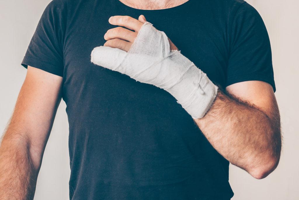 ¿Qué debo hacer después de una lesión personal?