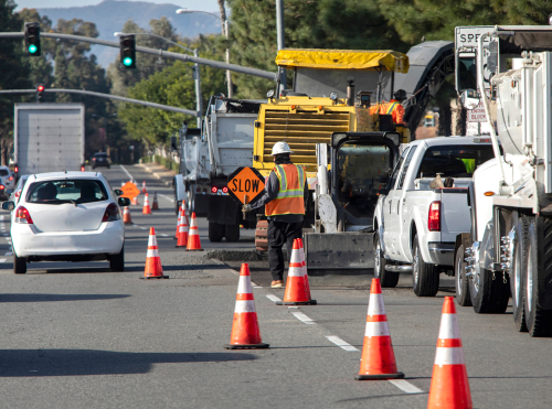 Common Causes of Work Zone Car Accidents in NJ